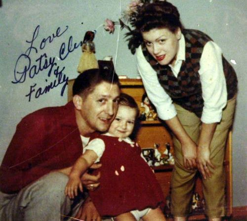 Patsy, Charlie and Julie, circa 1959. (Courtesy of the ...