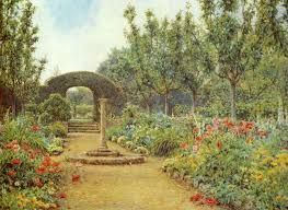 Image result for ernest arthur rowe - garden artist in rusthall