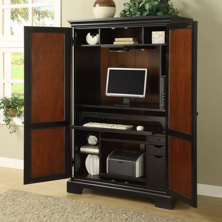 Office Cabinet Ideas best 25+ computer armoire ideas on pinterest | craft armoire