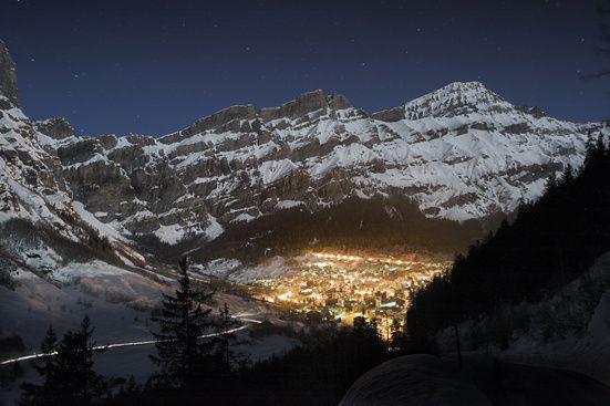 Leukerbad Dalatal Wallis Schweiz - Das Thermalbad der Alpen