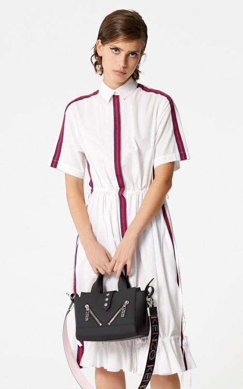 00a7b52b08 WHITE 'High Summer Capsule Collection' shirt dress for women KENZO ...