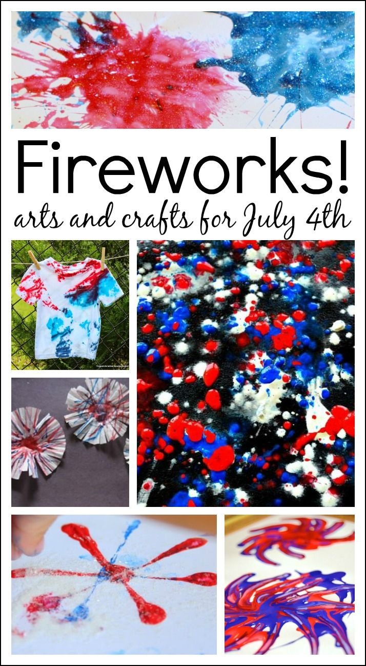 july 4th art projects for toddlers