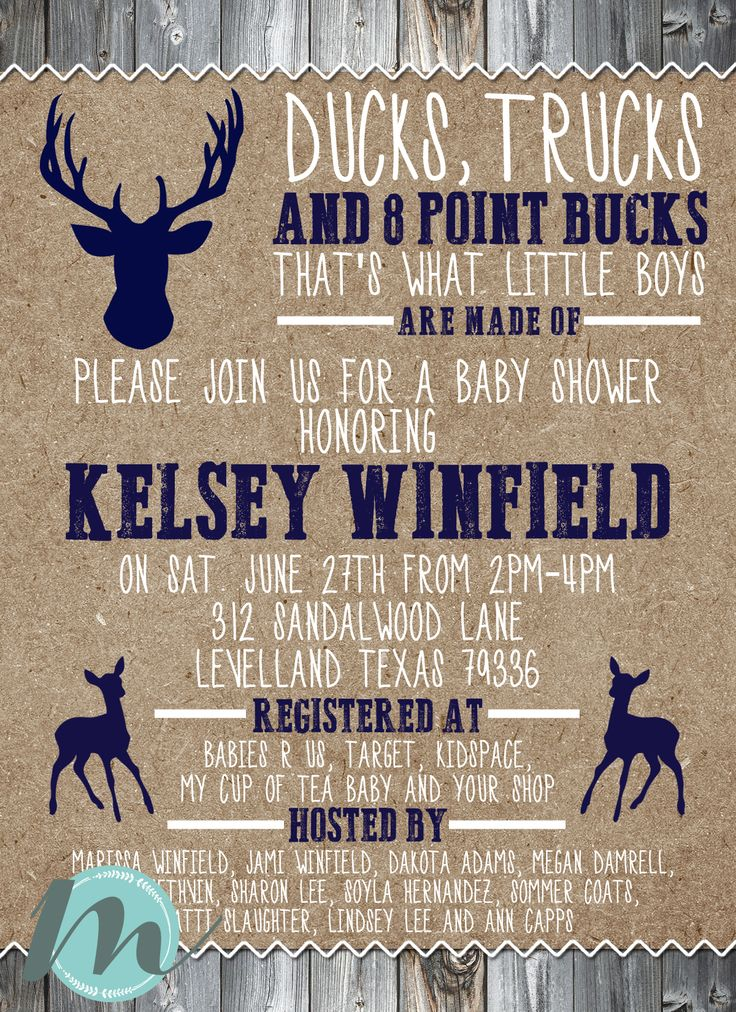 Best 25 Hunting Baby Showers Ideas On Pinterest Hunting