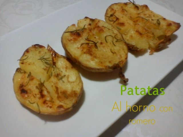 Patatas al romero.