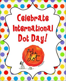 Corkboard Connections: Celebrate International Dot Day! This is really cool--I like the app that turns the drawing into a 3D image!