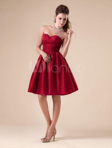 Más de 1000 ideas sobre Vestidos De Color Vino en Pinterest