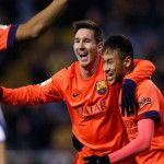 Liga de España: Barcelona con el triplete de Lionel Messi le ganó 4-0 a La Coruña
