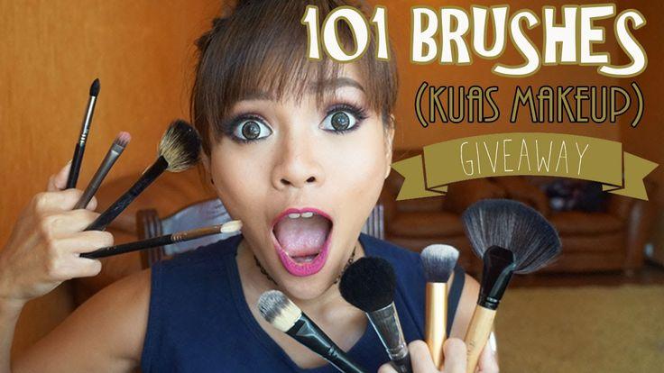 101 Brushes (Kuas Makeup) + GIVEAWAY