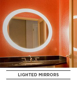 Lighted Mirror Bathroom Ideas Electric Hardware Mirrors