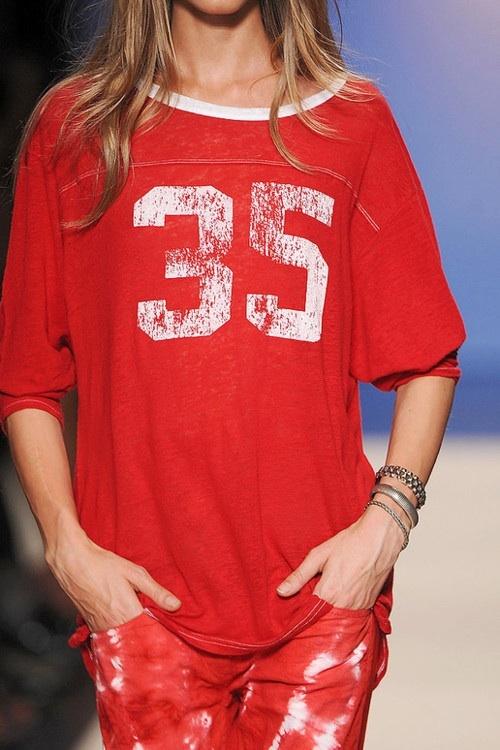 Isabel Marant SS 2012, tee