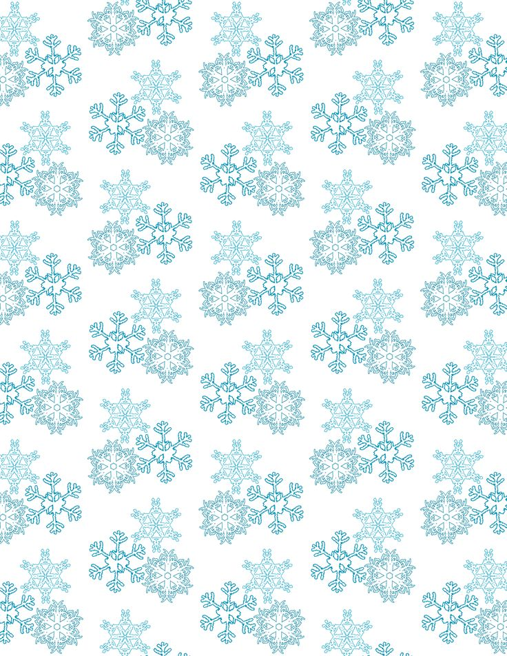 Free Winter and Christmas Scrapbook Paper
