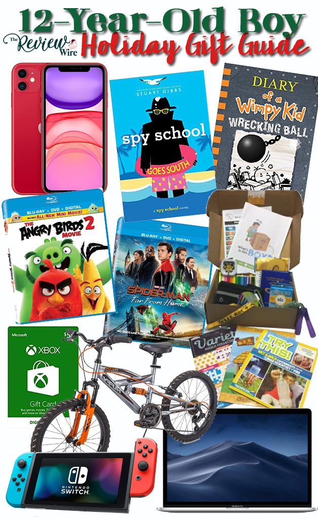 12 Gift Ideas For Your 12 Year Old Boy The Review Wire 12 Year Old Boy Gifts For Boys Old Boys