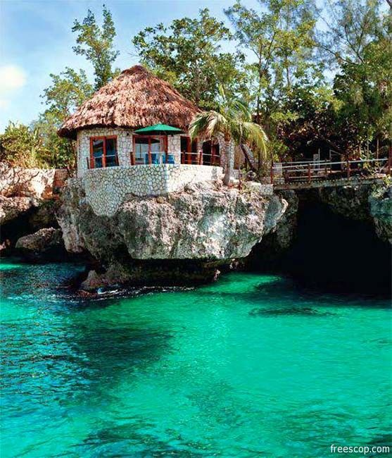 30 Photos of Fascinating Places Around the World - Rock House, Jamaica