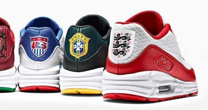 NIKEiD | Nike personaliza Air Max 90 com suas seleções da Copa | Marketing Esportivo