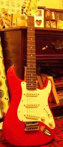 Fender Squire Hardtail Ministrat Guitar