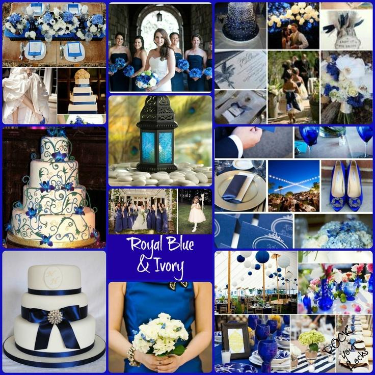 Royal Blue And Ivory Wedding Decorations Images Decoration
