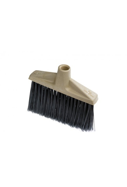 Medium synthetic Upright broom head: Medium synthetic fiber, Upright broom head