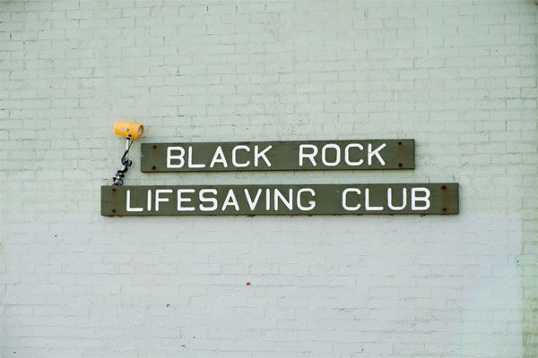 Black Rock Life Saving Club Sign