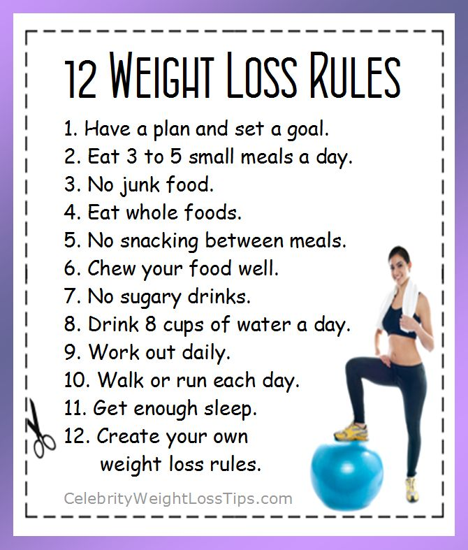 easy weight loss tips fast