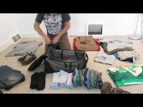 Упаковка чемодана!