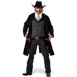 Gunfighter Cowboy Costume Adult www.grabevery.com