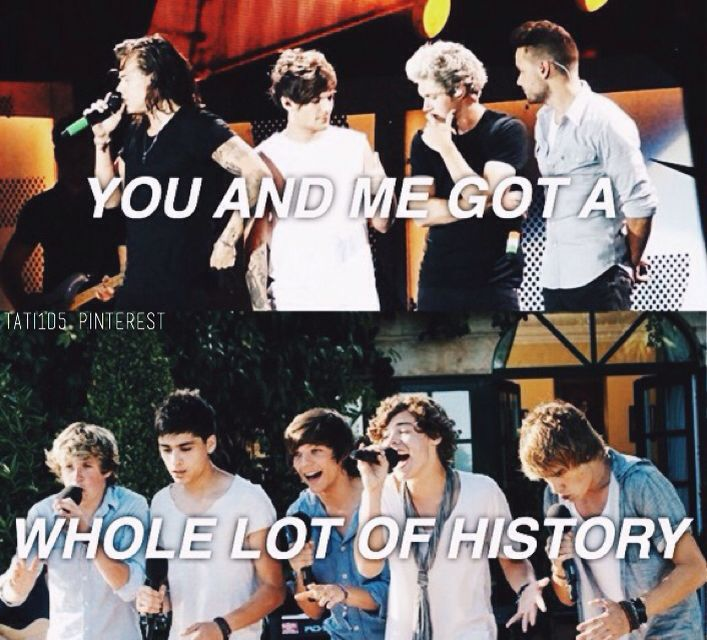 history // one direction • @Tati1D5