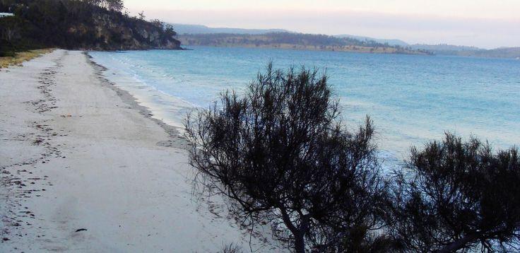 spring beach tasmania Orford