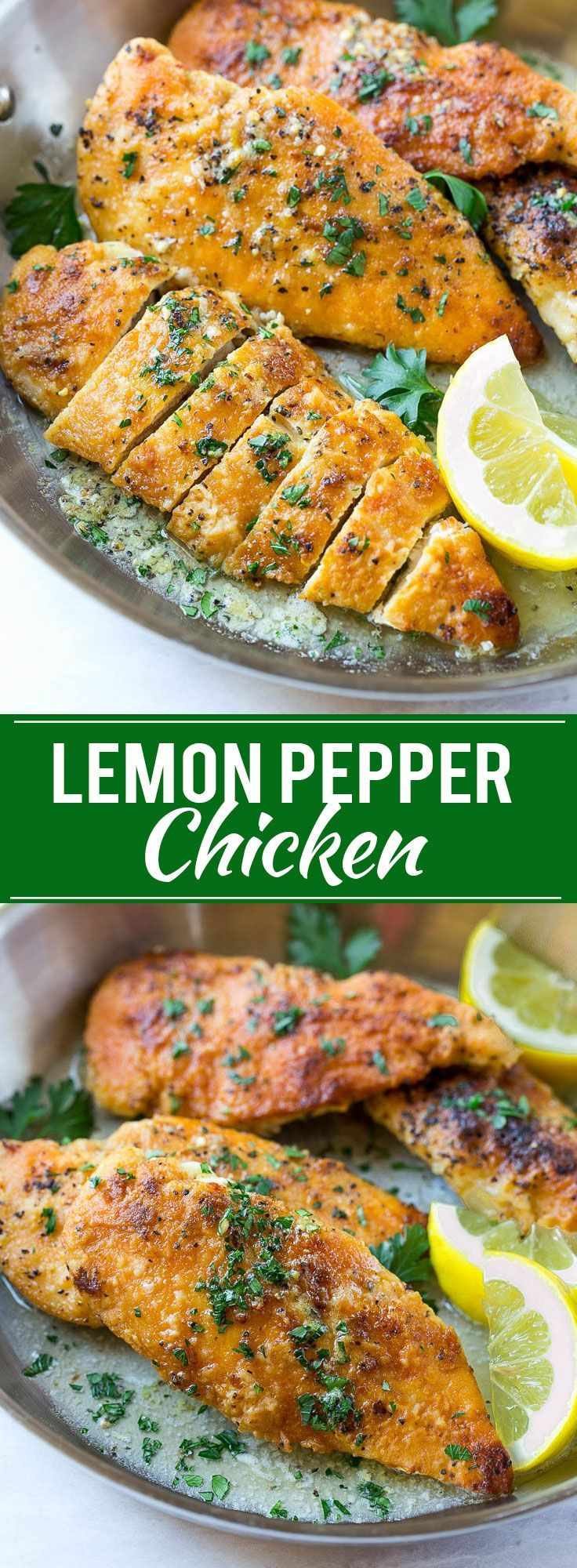 Lemon Pepper Chicken | Easy Chicken Recipe | Dinner Recipe | Lemon Chicken