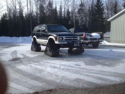 For Sale: S10 Blazer With Tracks | RacingJunk.com