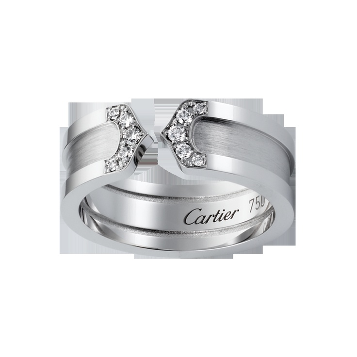 Double C Wedding Band by Cartier