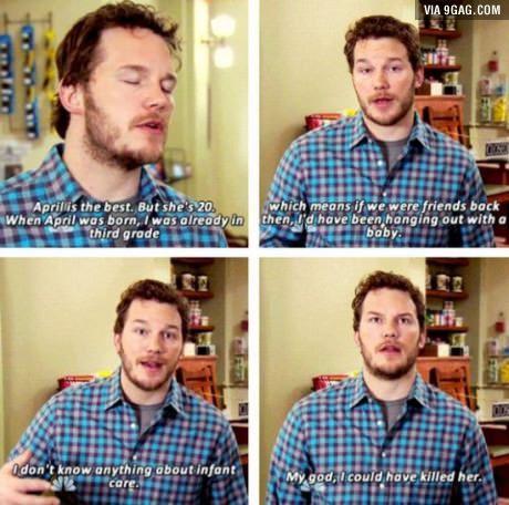 Chris Pratt cracks me up!
