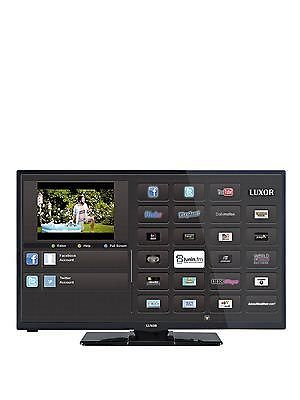 """Luxor 32"""" Hd Ready Smart Led Freeview Hd & Built In Wifi Tv (direct Led)"""