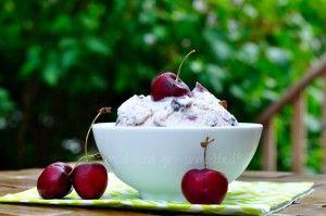 Roasted Cherry & Pistachio Chocolate Chunk Ice Cream