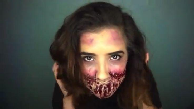 https://m.youtube.com/watch?v=j7roqGRJm_g #zombiemakeup #stagemakeup #tutorial