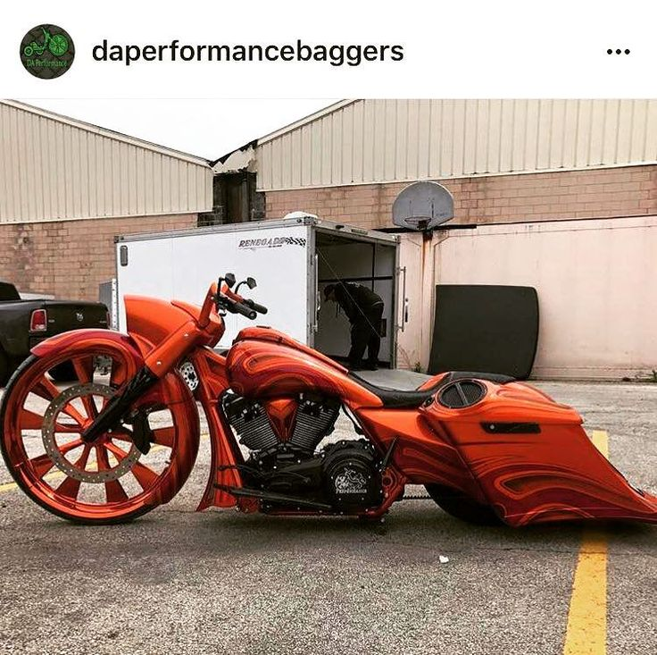 Bagger #motorcycles