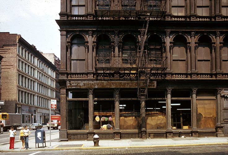 Walk through Soho before it was a shopping mall. | 20 Things New Yorkers Older Than 40 Did