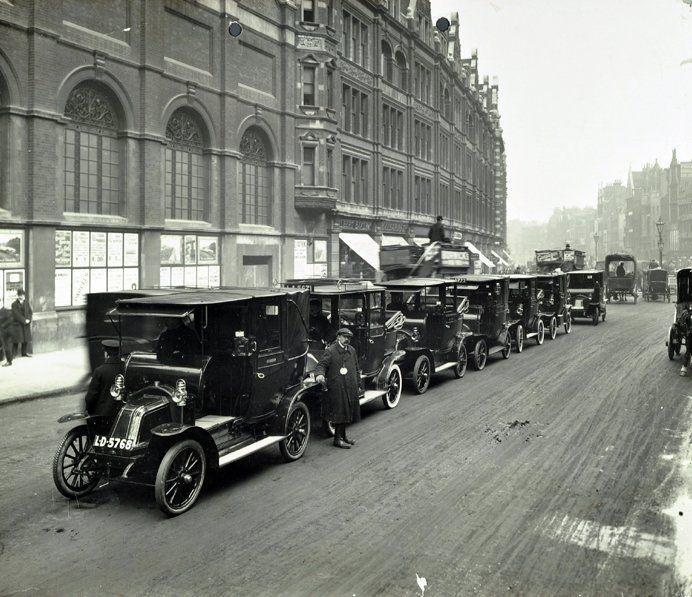 Cab rank London