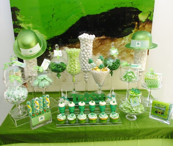 St. Patrick's Day Candy Bar Party
