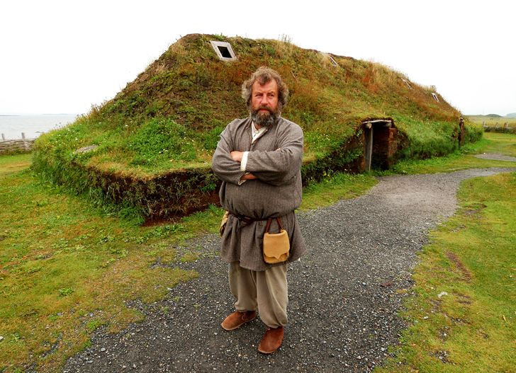 Green-Roofed Houses at L'anse Aux Meadows Were Built by Vikings 1000 Years Ago! | Inhabitat - Sustainable Design Innovation, Eco Architecture, Green Building