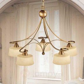 5-punktowa lampa wisząca Alessio