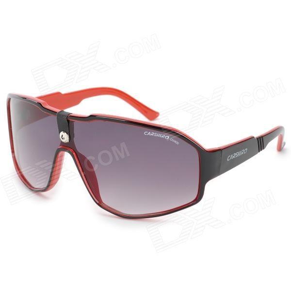 CARSHIRO C1215 Resin Lens Plastic Frame UV400 Protection Sunglasses
