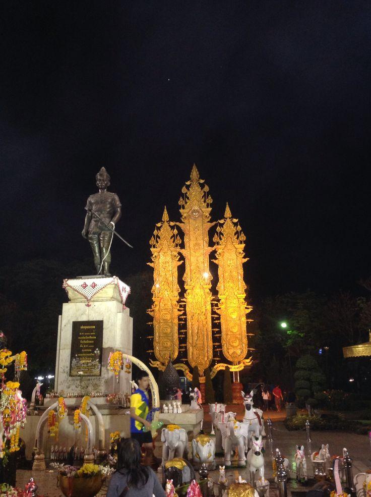 King Mengrai Monument. Chiang Rai, Thailand