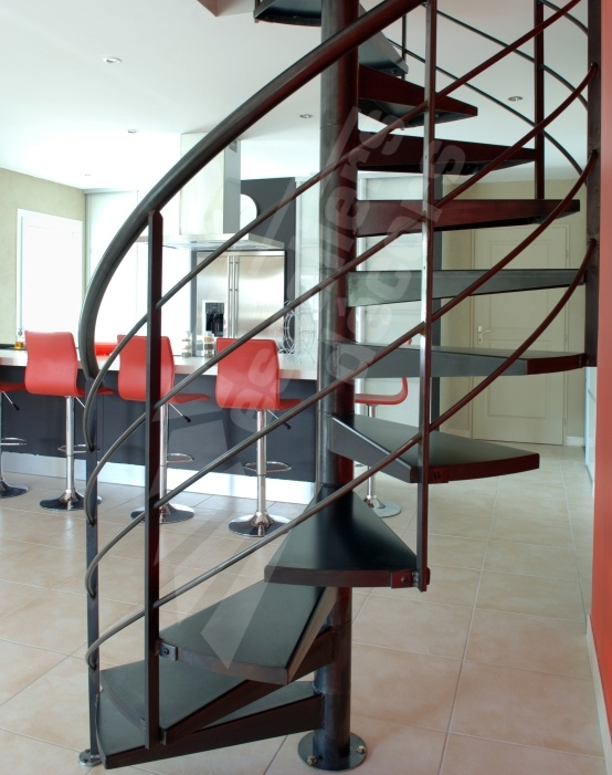 131 best images about un escalier h lico dal en colima on for Appartement deco bistrot