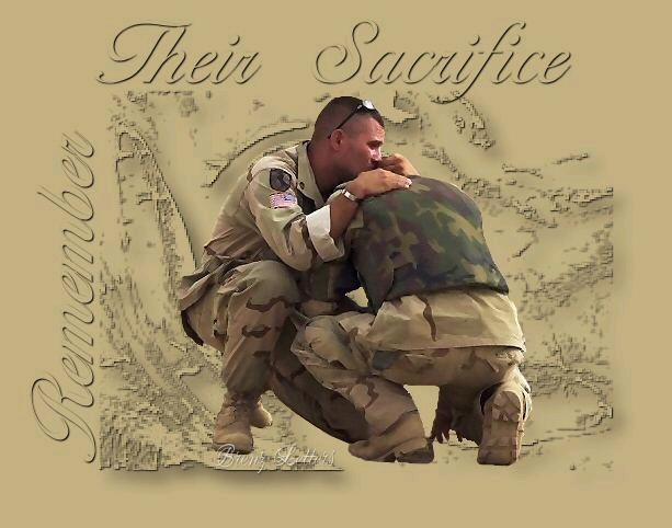 remember their sacrifice