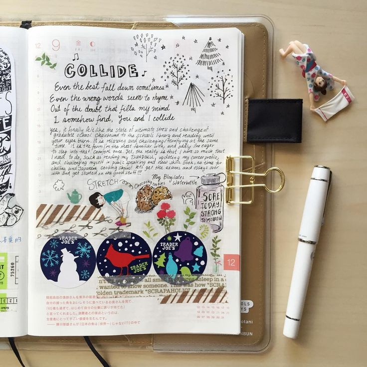 """""""Trader joe stickers!! #doodle #drawing #diary #daily #dailysketch #journal…"""