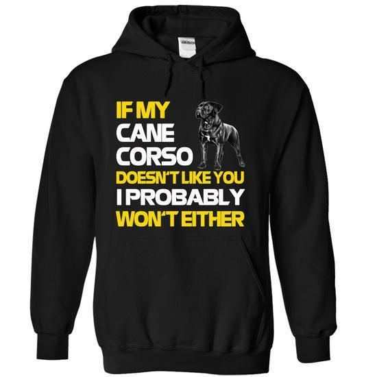 Funny Tshirt Cane Corso T Shirts, Hoodies Sweatshirts. Check price ==► https://www.sunfrog.com/Pets/Funny-Tshirt-Cane-Corso-Black-Hoodie.html?57074