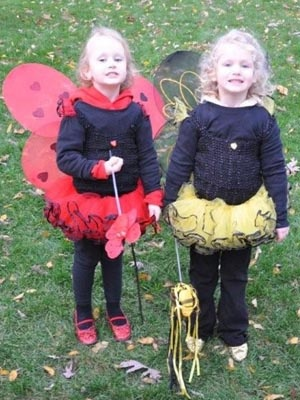 Twins at Halloween  #twins #Halloween #costumes