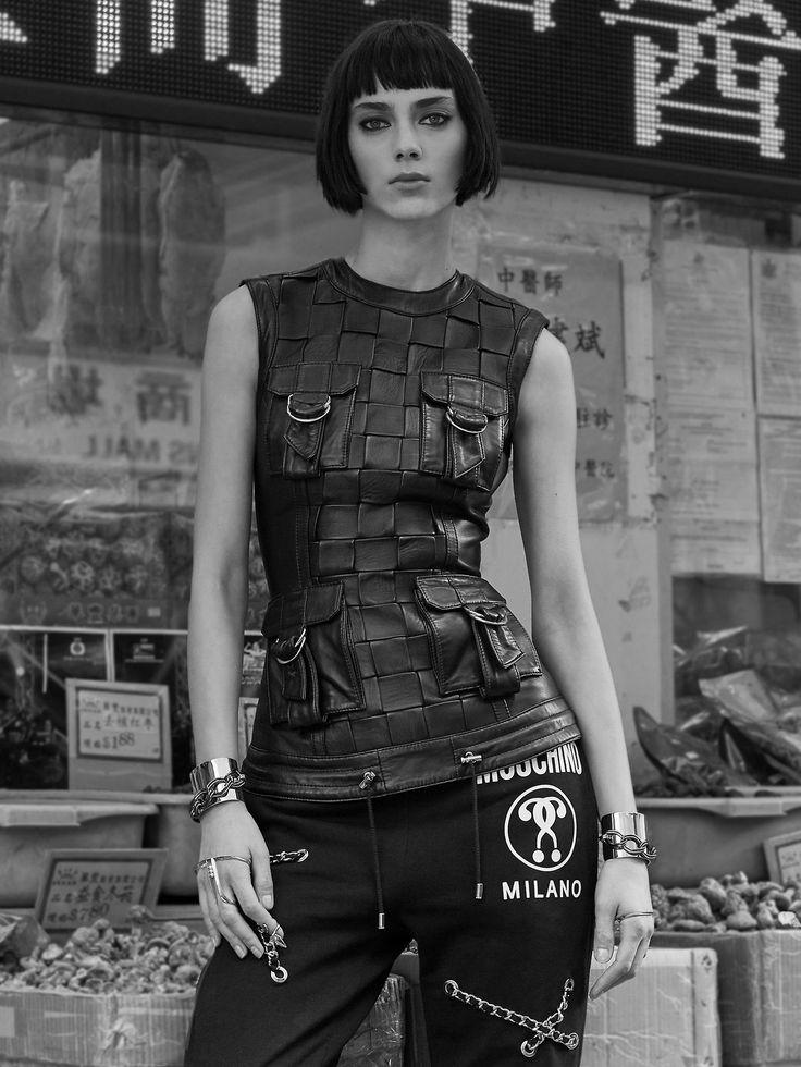 Hunger TV, Feb 2016 Photography: Nick Thompson Styled by: Jessica Margolis Model: Agnes Sokolowska