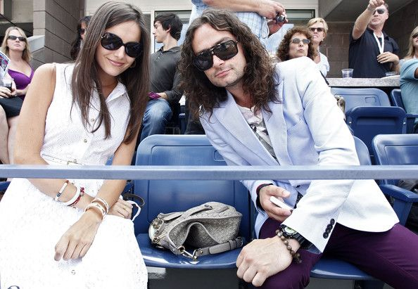 Camilla Belle Photos Photos - (EXCLUSIVE COVERAGE)   Actress Camilla Belle and singer Constantine Maroulis attend The Moet Suite at the US OPEN on September 10, 2011 in New York, United States. Moet & Chandon is the official champagne sponsor of the 2011 US OPEN. - The Moet & Chandon Suite At The US OPEN