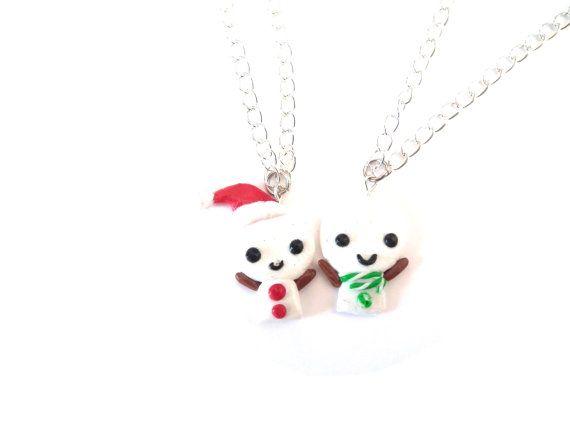 Best Friends Necklace BFF Necklace Best Friend by LittlePandahugs